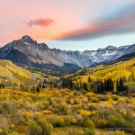 Colorado Classic Autumn Sunset
