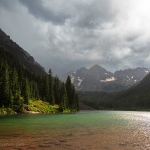 Thunderstorm at the Maroon Bells