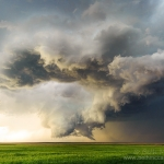 Supercell and Wall Cloud - 5/24/16 Woodrow, CO