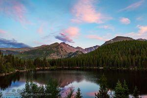 Evening Light Over Bear Lake